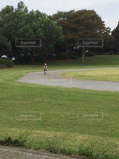自転車練習の写真・画像素材[2565898]
