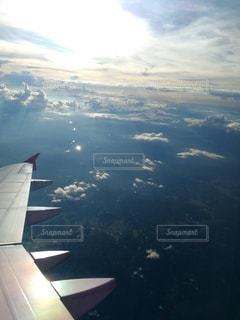 空からの大地の写真・画像素材[2574148]
