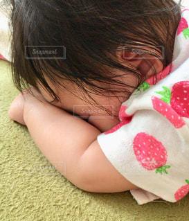 ふて寝の写真・画像素材[2559760]
