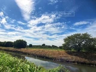 川と空の写真・画像素材[2576223]