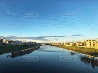 川と空の写真・画像素材[2668510]