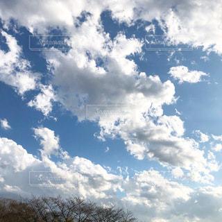 雲のある風景の写真・画像素材[3506992]
