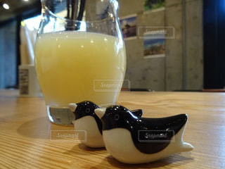ペンギンの箸置きの写真・画像素材[2592078]