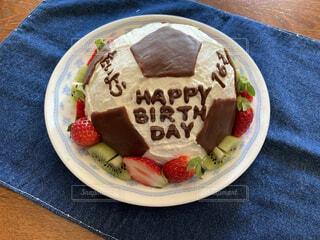 バースデーケーキの写真・画像素材[3952560]