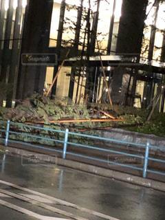 台風19号の写真・画像素材[2601961]