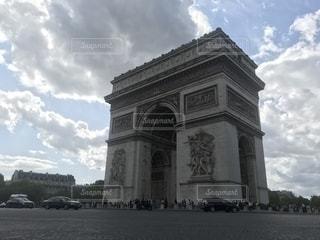 凱旋門の写真・画像素材[2568501]