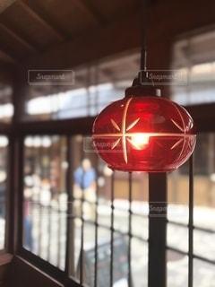 素敵なランプ発見の写真・画像素材[2568907]