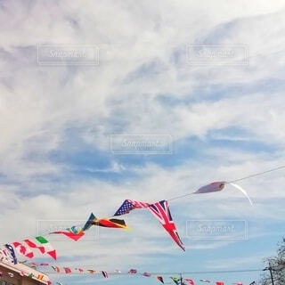 運動会の日の写真・画像素材[3753688]