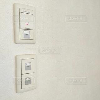 家のスイッチの写真・画像素材[3770739]