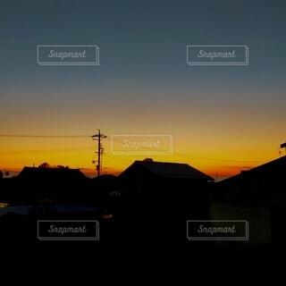 夕暮れ時の写真・画像素材[4081508]