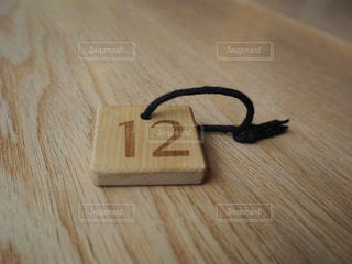 木製のテーブルの写真・画像素材[2874369]