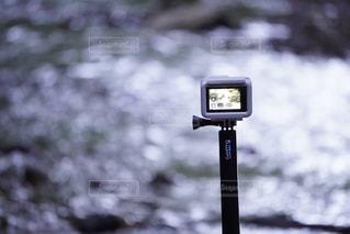 カメラをカメラで撮影する📸の写真・画像素材[2607010]