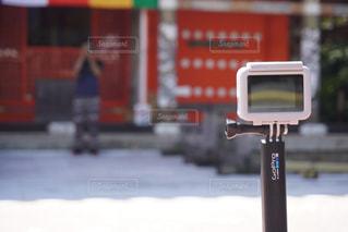 カメラをカメラで撮影する📸の写真・画像素材[2607011]
