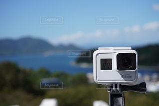 カメラをカメラで撮影する📸の写真・画像素材[2607012]