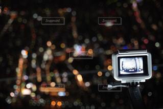 カメラをカメラで撮影する📸の写真・画像素材[2607013]