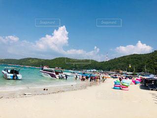タイ・パタヤのラン島ビーチの写真・画像素材[2993660]