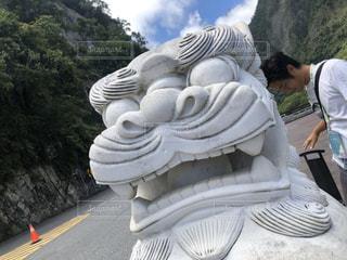 台湾で見つけたシーサーの写真・画像素材[2995884]