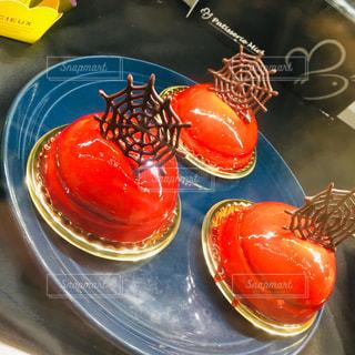 ハロウィン仕様のケーキの写真・画像素材[2579811]