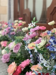 夢の国に咲く花々の写真・画像素材[3575986]