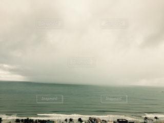 目視 一部豪雨の写真・画像素材[2588550]
