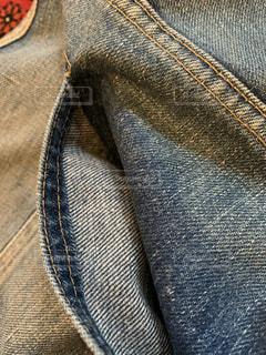 ビンテージリーバイス505 66前期 バックポケット シングルステッチの写真・画像素材[3475938]