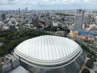 上から東京ドームの写真・画像素材[2594433]