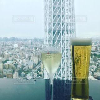 ワインとビールの写真・画像素材[3479185]