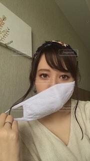 マスクの写真・画像素材[3618381]
