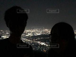 夜景の写真・画像素材[2594435]