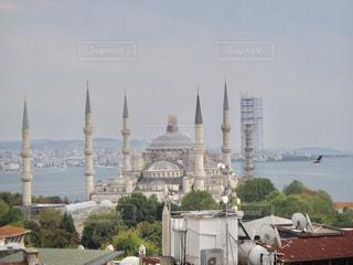 トルコ イスタンブール ブルーモスクの写真・画像素材[2593176]