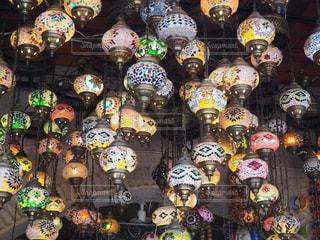 トルコで見かけたランプの写真・画像素材[2611639]