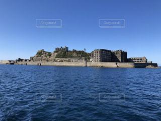 軍艦島の写真・画像素材[2705849]