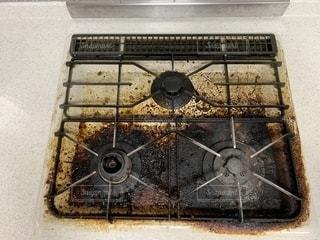 キッチンの汚れの写真・画像素材[2601178]