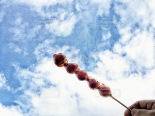 空の雲のクローズアップの写真・画像素材[3007767]