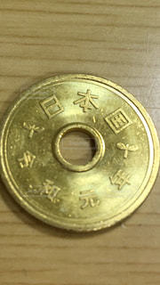 コインのクローズアップの写真・画像素材[3142930]