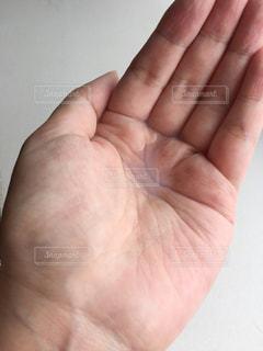手を閉じるの写真・画像素材[3204555]