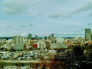 青葉城近くからの眺めの写真・画像素材[2678033]