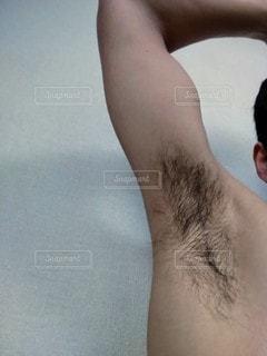 わき毛の写真・画像素材[2712766]