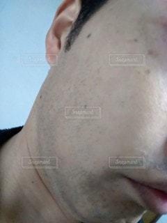 青髭の写真・画像素材[2723634]