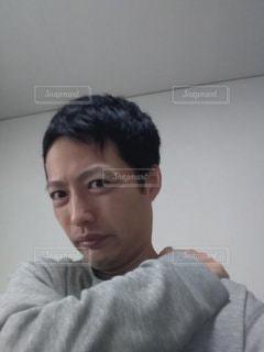 カメラを見ている人の写真・画像素材[2782423]