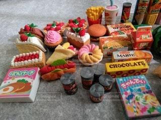 たくさんの食料品の写真・画像素材[2890556]