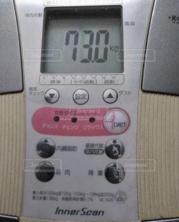 体重計の写真・画像素材[2899446]