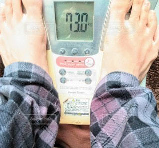 体重計の写真・画像素材[2899453]