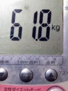 体重の写真・画像素材[2899493]