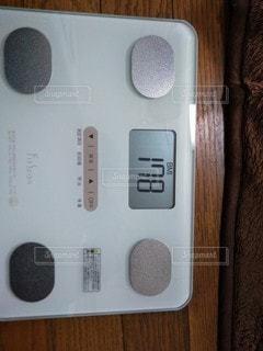 体重計のクローズアップの写真・画像素材[2910793]
