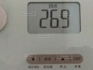 BMIのクローズアップの写真・画像素材[2910792]