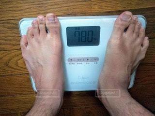 体重の写真・画像素材[2910814]