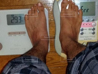 体重の写真・画像素材[2910827]