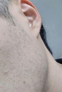 無精髭の写真・画像素材[2933883]