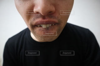 無精髭の写真・画像素材[3009618]